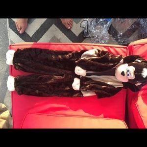 2t monkey costume new